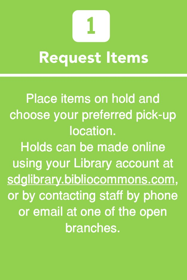 Request Items from the Library
