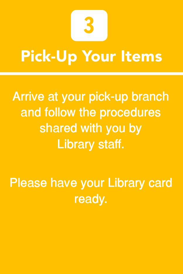 Pick-Up Your Items
