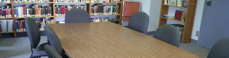 Meeting room at library
